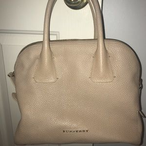 Authentic Burberry handbag in bone